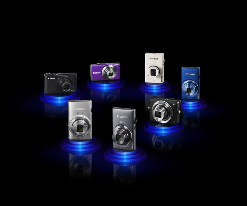 Canon tõi turule uued IXUS-e mudelid