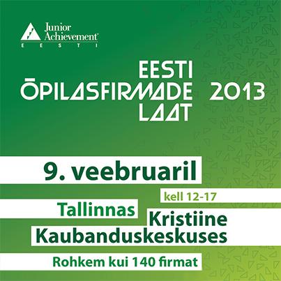Kristiine keskuses toimub läbi aegade suurim Eesti õpilasfirmade laat