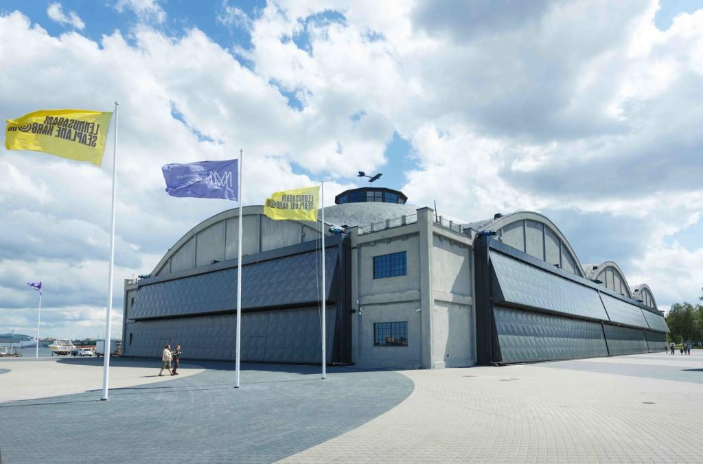 Aasta betoonehitis on Tallinna Lennusadama vesilennukite angaar