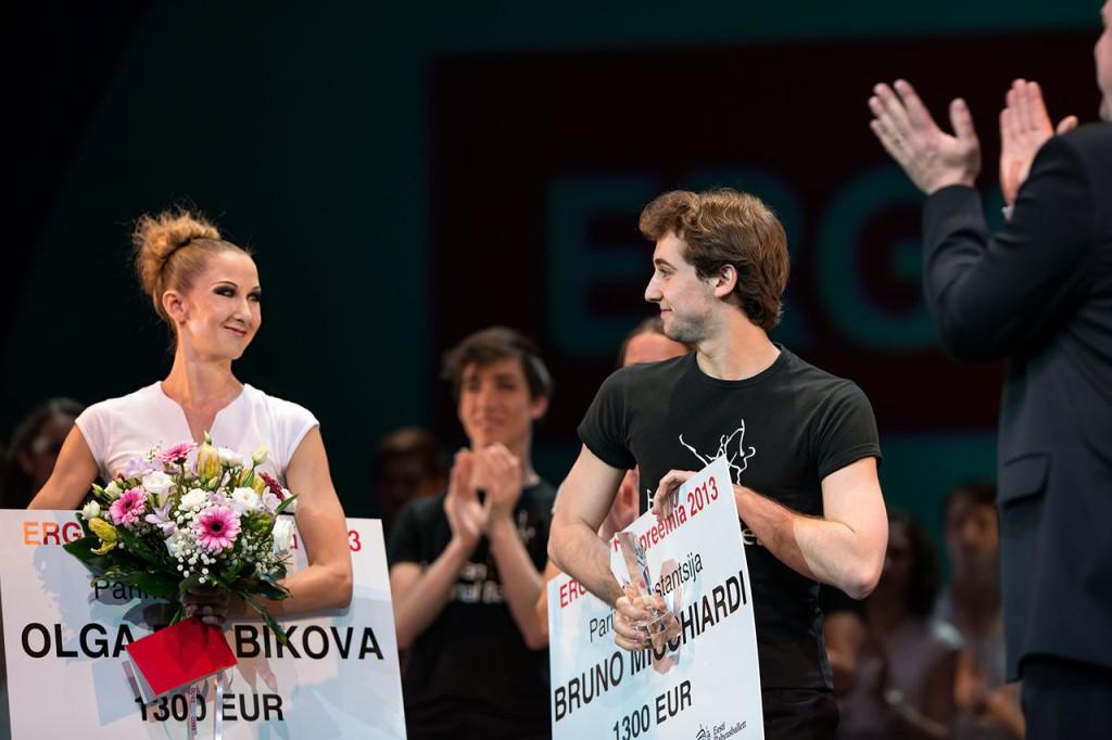Ergo tantsupreemiad pälvisid Olga Rjabikova ja Bruno Micchiardi