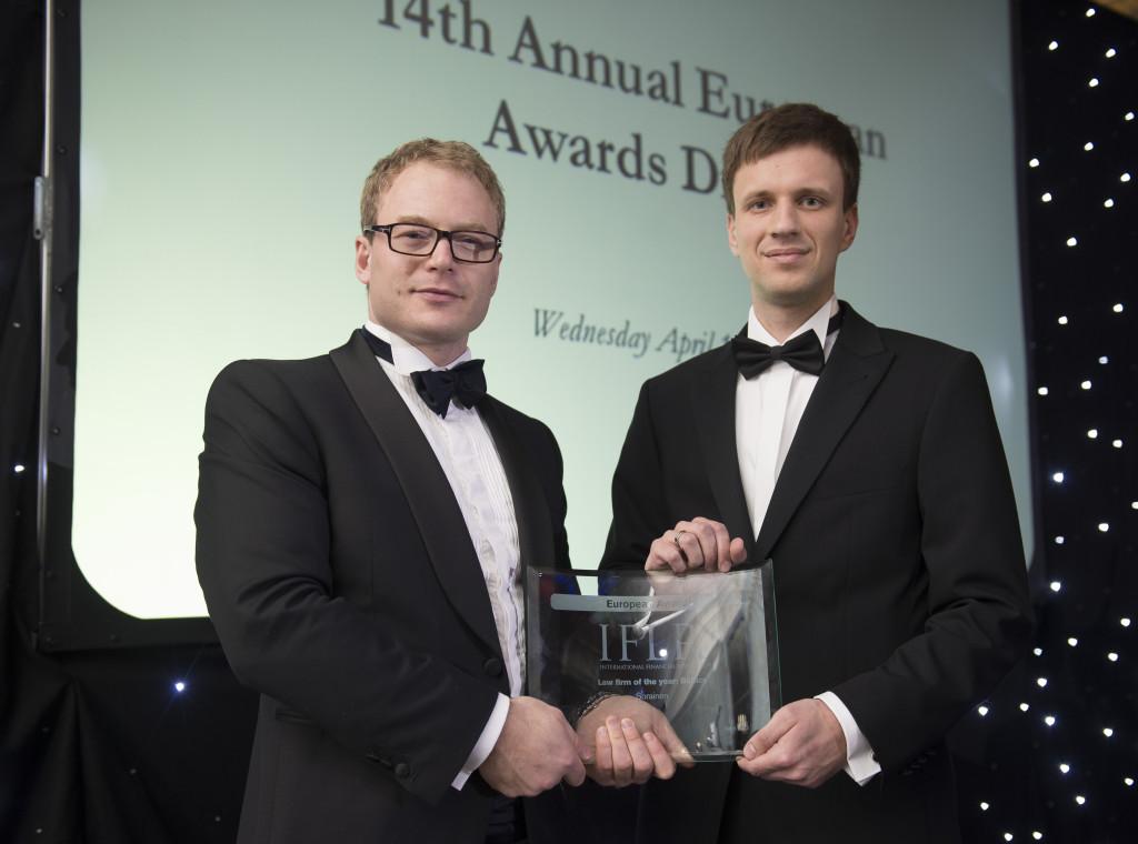 Sorainen võitis Baltikumi aasta advokaadibüroo tiitli