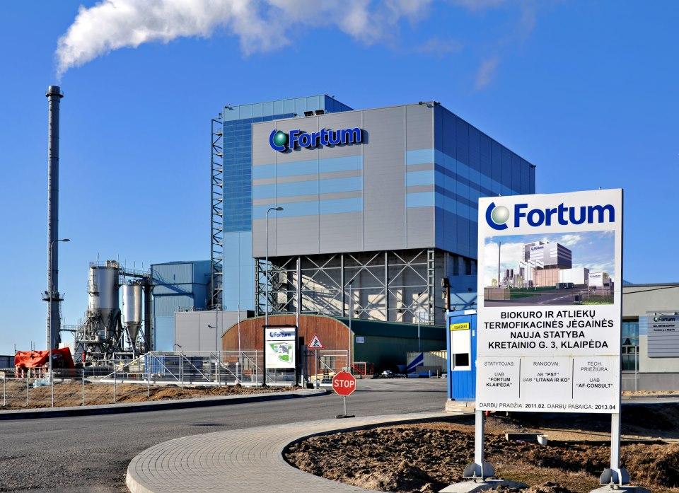 Fortum avas kolmapäeval Leedus Baltimaade esimese jäätmeenergiajaama