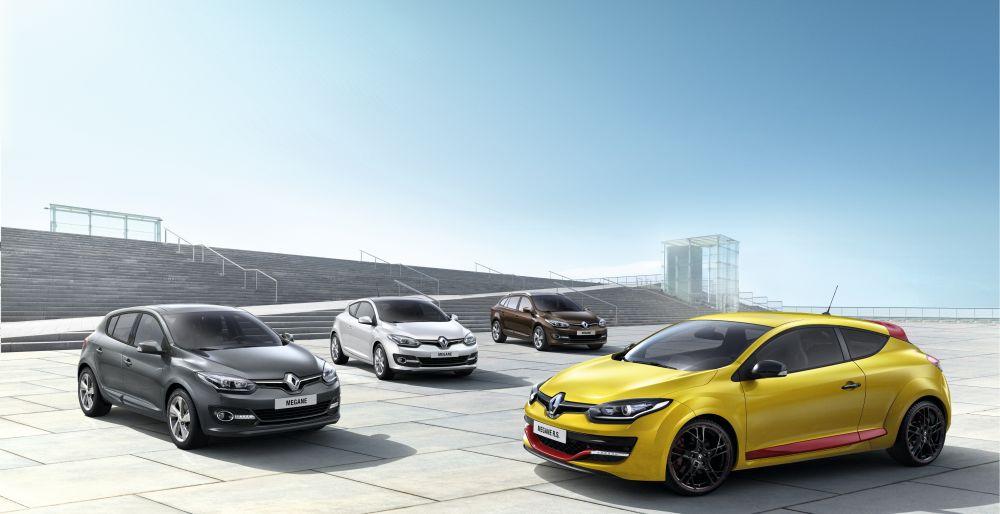 Frankfurdis tutvustatakse uuenenud välimusega Renault Mégane'i