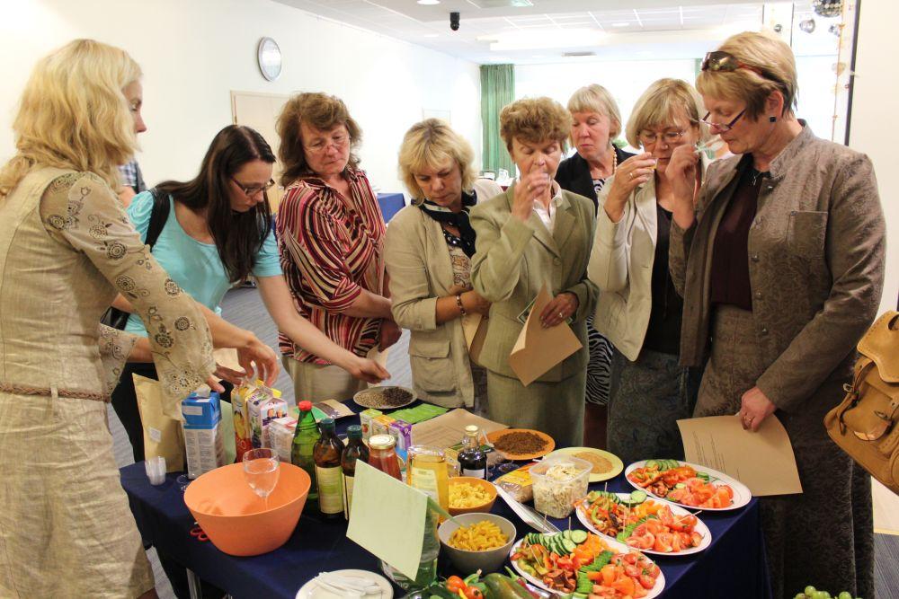 Ettevõtlike Daamide Assotsiatsioon viisi toitlustajad kokku mahetootjatega