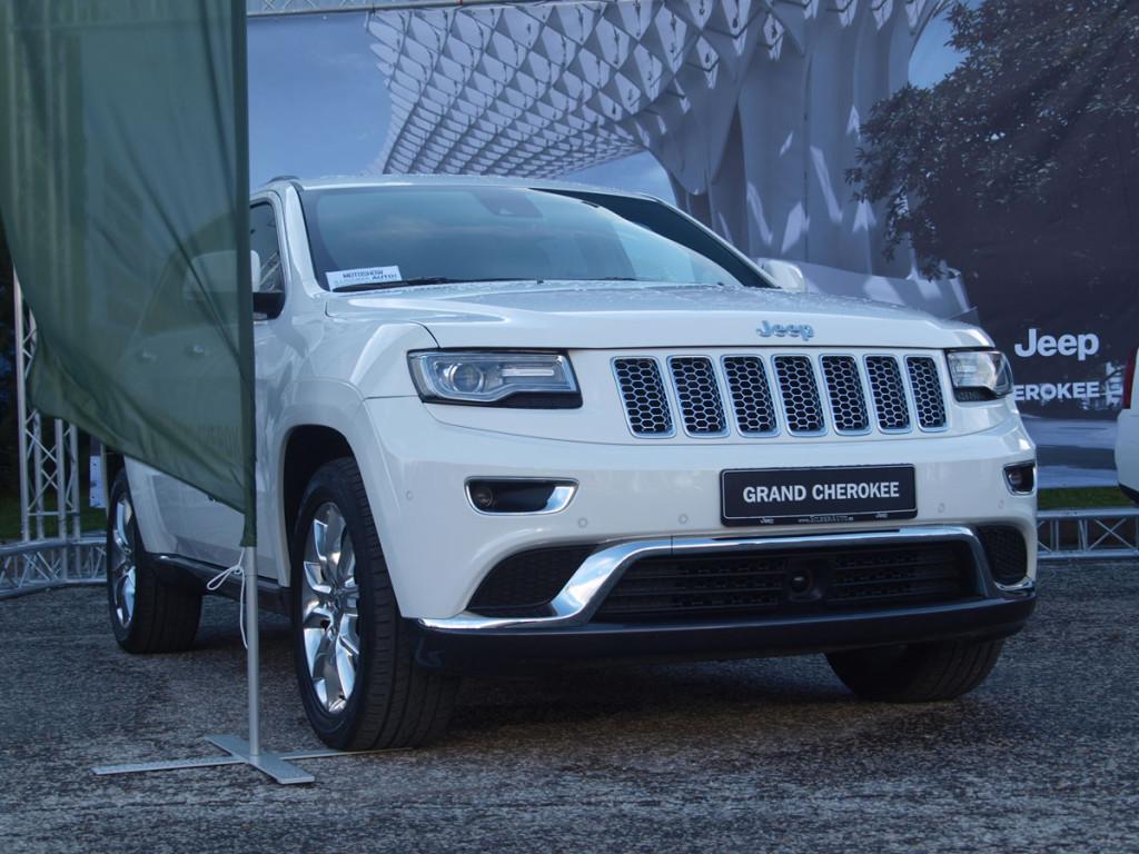 Tartu Motoshow külastajad valisid Jeep Grand Cherokee oma lemmikuks