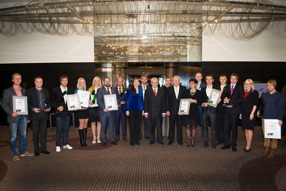 10. Tallinna Ettevõtluspäev päädis silmapaistvate ettevõtjate tunnustamisega