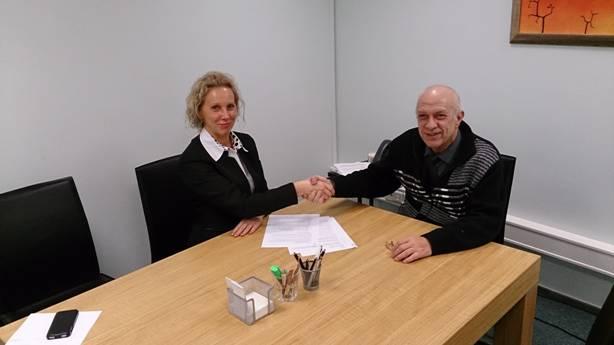 EVEA allkirjastas täna Peterburi Ettevõtjate Assotsiatsiooniga koostöölepingu