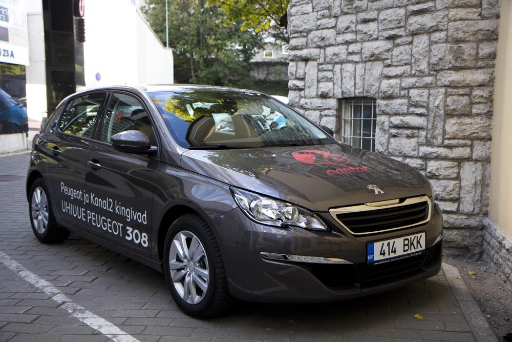 Kanal 2 kingib koostöös Peugeot'ga televaatajale uhiuue sõiduauto!