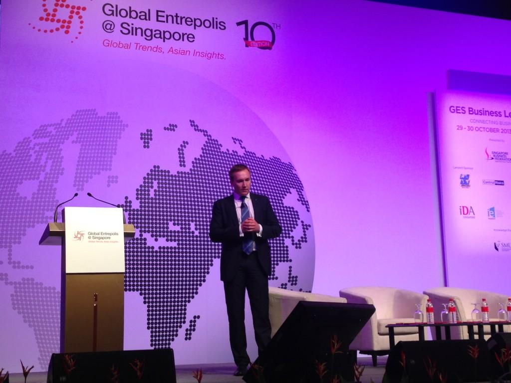 EAS tutvustas Singapuri suurimal ärifoorumil Eesti ettevõtluskeskkonda