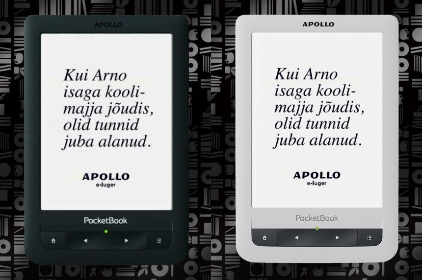 Apollo tõi müügile esimese eestikeelse e-lugeri