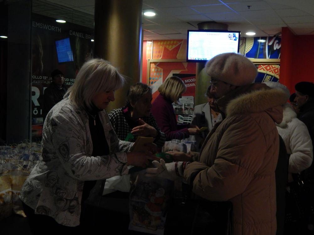 AS Forum Cinemas võimaldab Tallinna vanuritele jõulukingiks kinoseansi