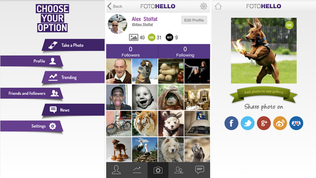 Eestis loodi uus sotsiaalvõrgustik FOTOHELLO