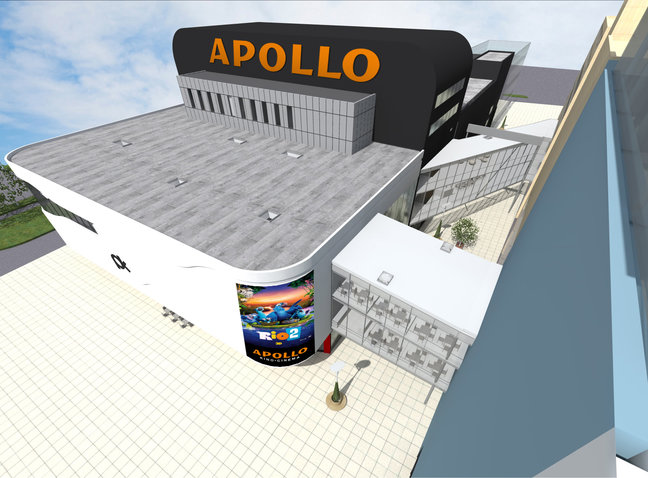 Apollo avab Pärnus oma esimese kino