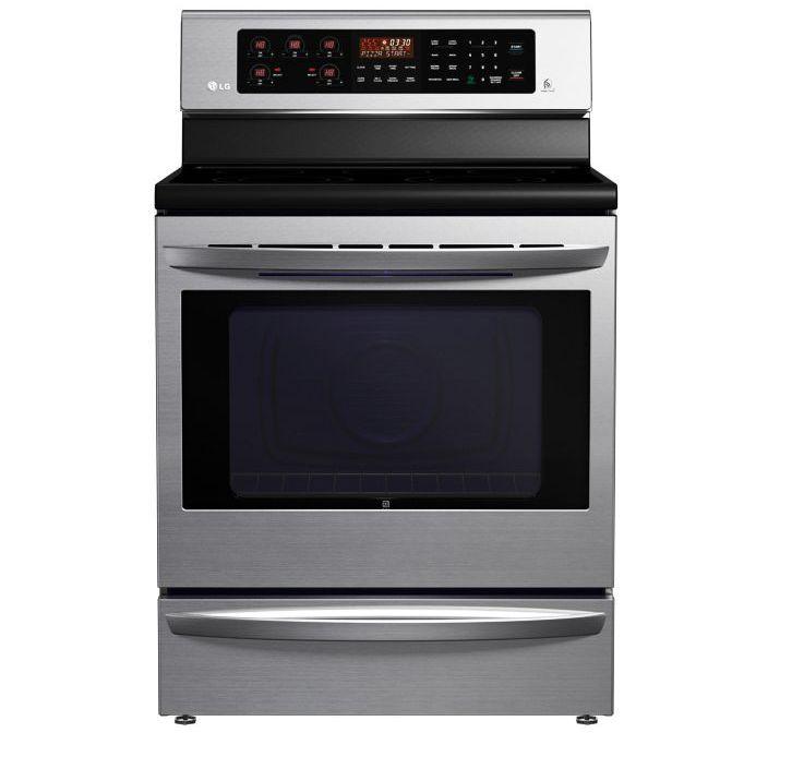 LG nutikas ahi Smart Oven soovitab retsepte