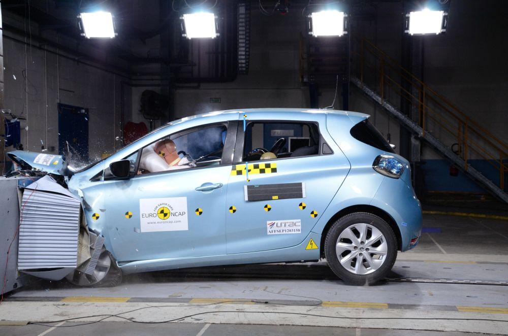 Renault ZOE on Euro NCAP hinnangul 2013. aasta parim supermini