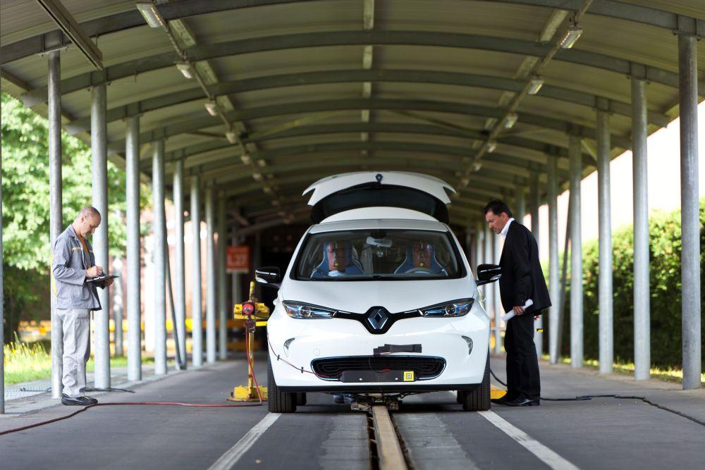 Renault ZOE Euro NCAP2