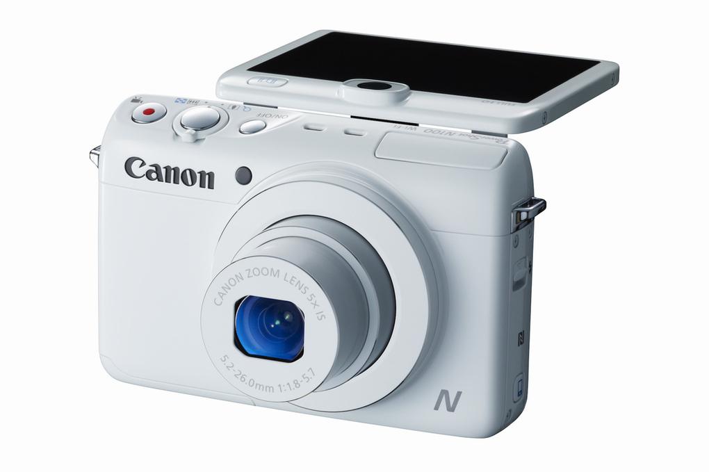 Uus Canon PowerShot N100 salvestab üheaegselt mõlemal pool kaamerat toimuvat