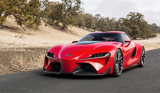 Toyota esitleb 2014. aasta Detroiti autonäitusel uut kupeed – ideeautot FT-1
