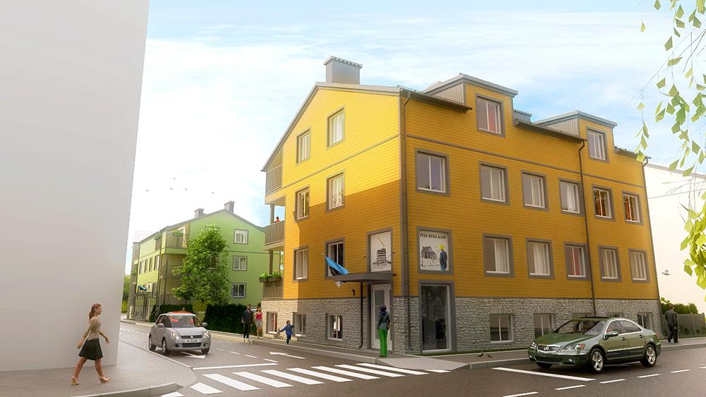 Merko ehitab Kalamajja kaks targa kodu lahendusega kortermaja