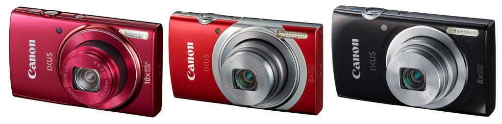 Canon lisas IXUS-sarja kolm uut kaamerat
