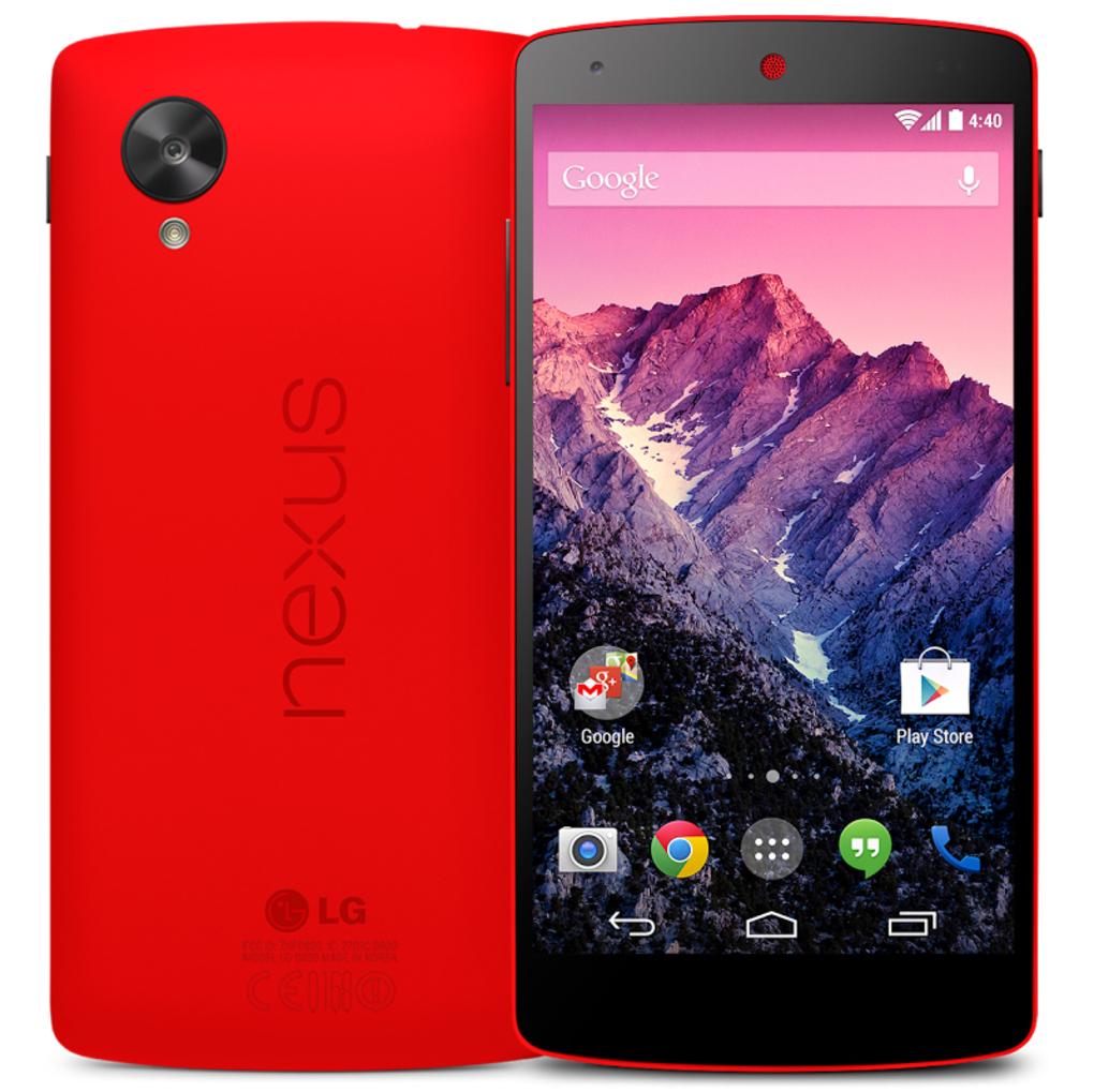 LG ja Google annavad välja esimese punase Nexus 5 nutitelefoni