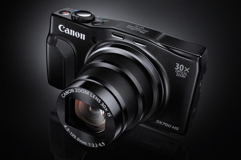 Canon esitleb kõige õhemat 30-kordse optilise suumiga kaamerat PowerShot SX700 HS