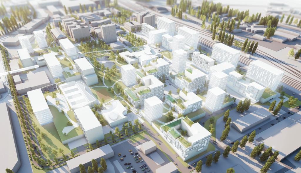 Ülemiste Cityst saab 10 aastaga Tallinna moodsaim linnaosa