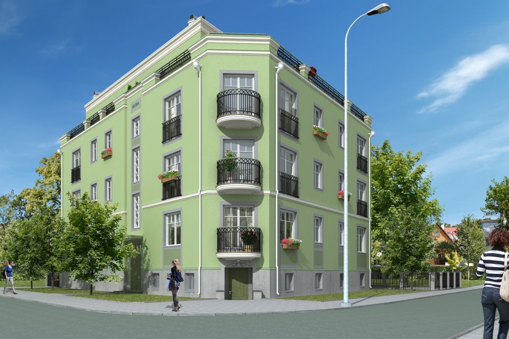 Kadriorus alustati uue eksklusiivse korterelamu ehitust