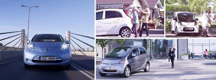 Elektriautosid saab nüüdsest rentida ka Ülemiste Citys