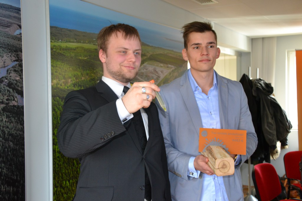 Organic Filter meeskonnaliikmed Kristjan Järvan ja Raul Treier  Foto: Gaili Eding