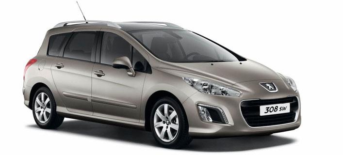 Peugeot esitleb Baltikumi suurimal autonäitusel uut Peugeot 308 SW'd