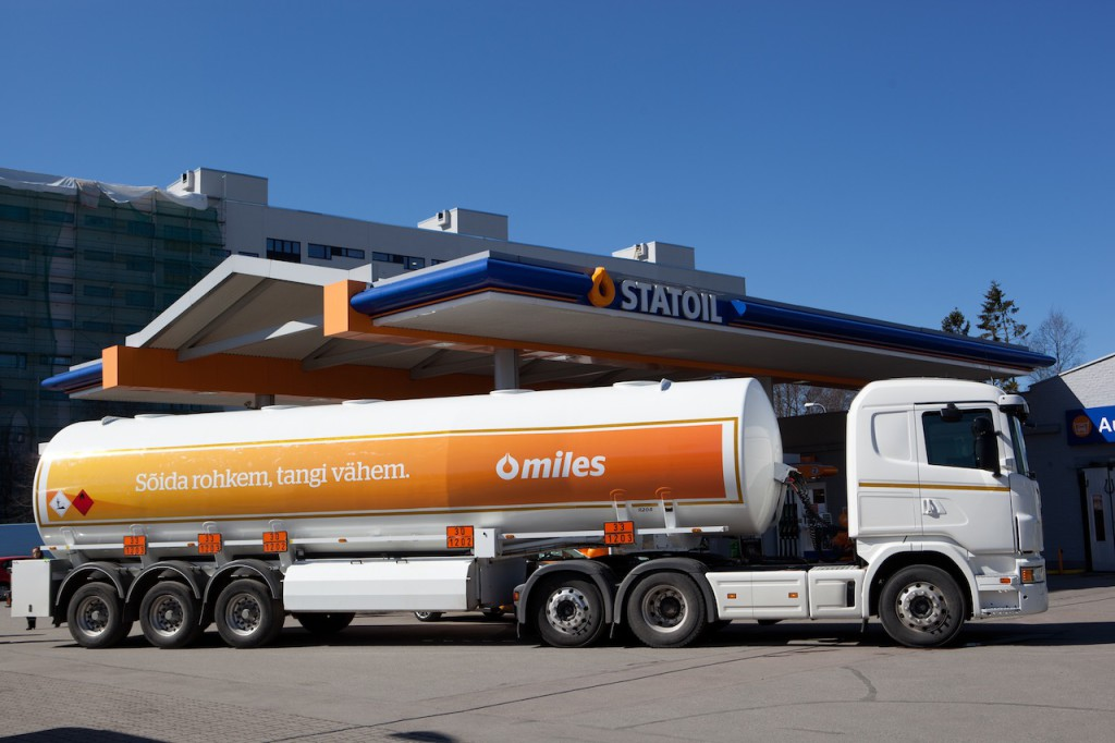 Statoili klient säästab aastas paagitäie kütust