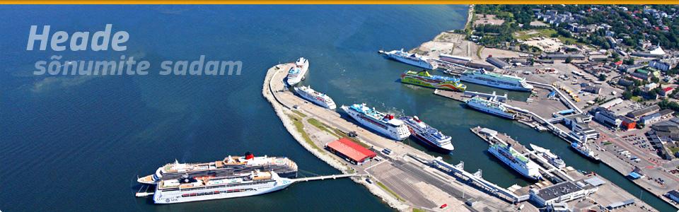 Tallinna Sadama esimese kvartali kaubamaht kasvas 7,5 protsenti 8,3 miljoni tonnini