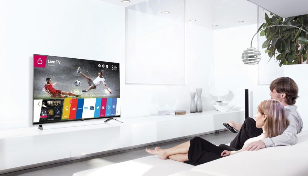 LG webOS-ga nutitelerite müük ületas ühe miljoni piiri