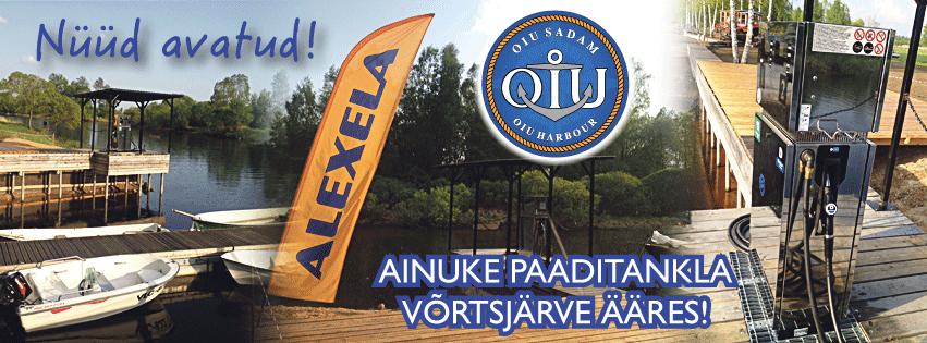 Alexela avas Eesti hetkel ainukese paaditankla siseveekogudel