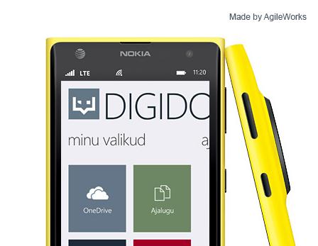 Windows Phone'iga saab digitaalselt dokumente allkirjastada