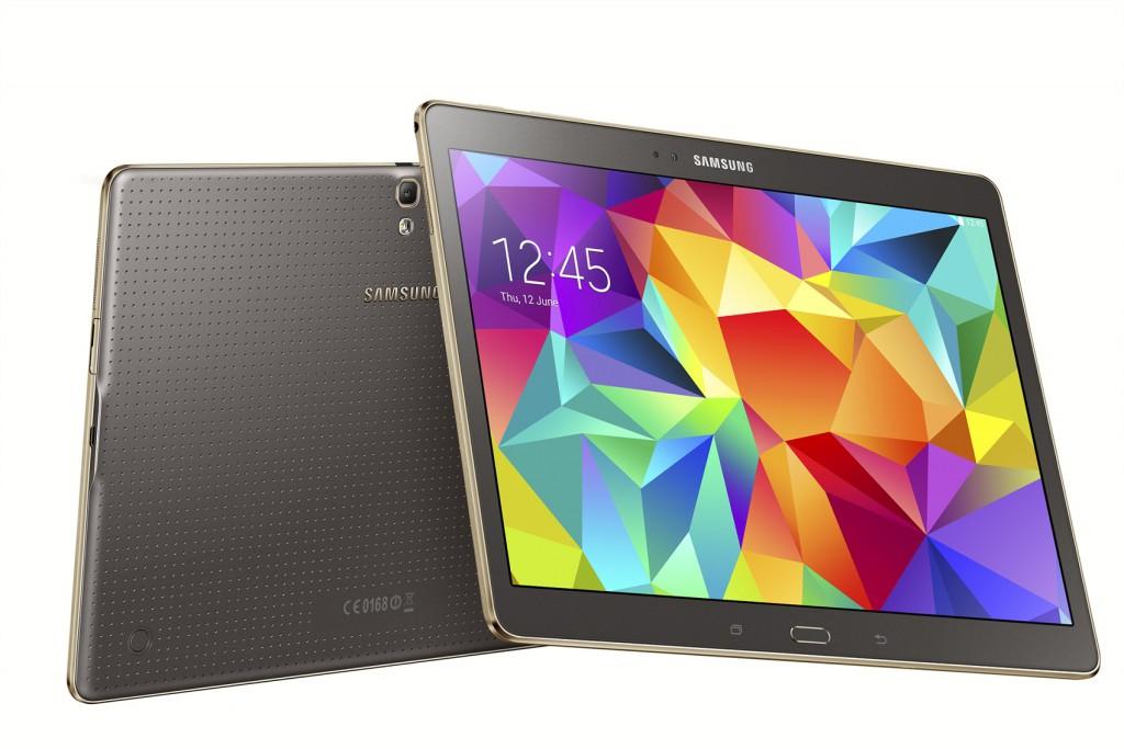 Samsung avalikustas uue tahvelarvutite lipulaeva Samsung Galaxy Tab S