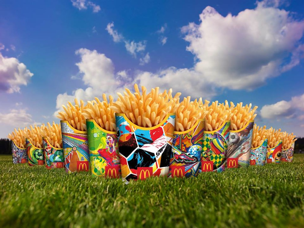 McDonald´s pakub FIFA jalgpalli MM-i puhul eriburgerit ja jalkarakendust