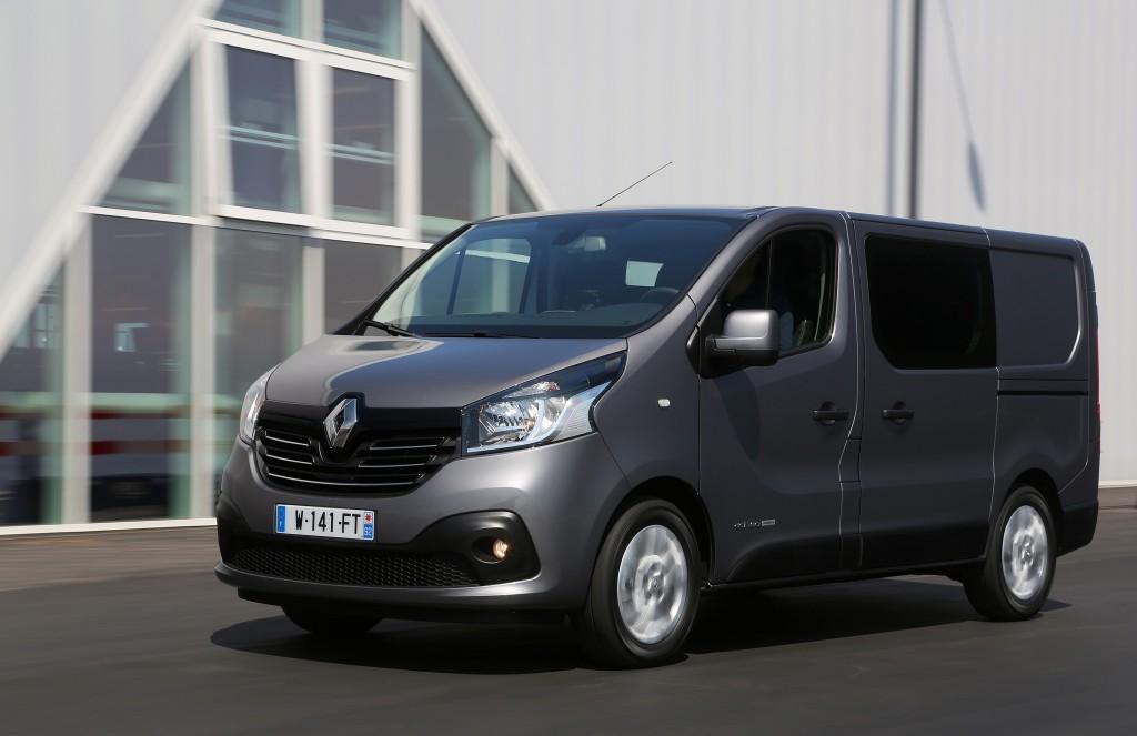 Uues Sandouville'i tehases hakatakse tootma uut Renault Traficut