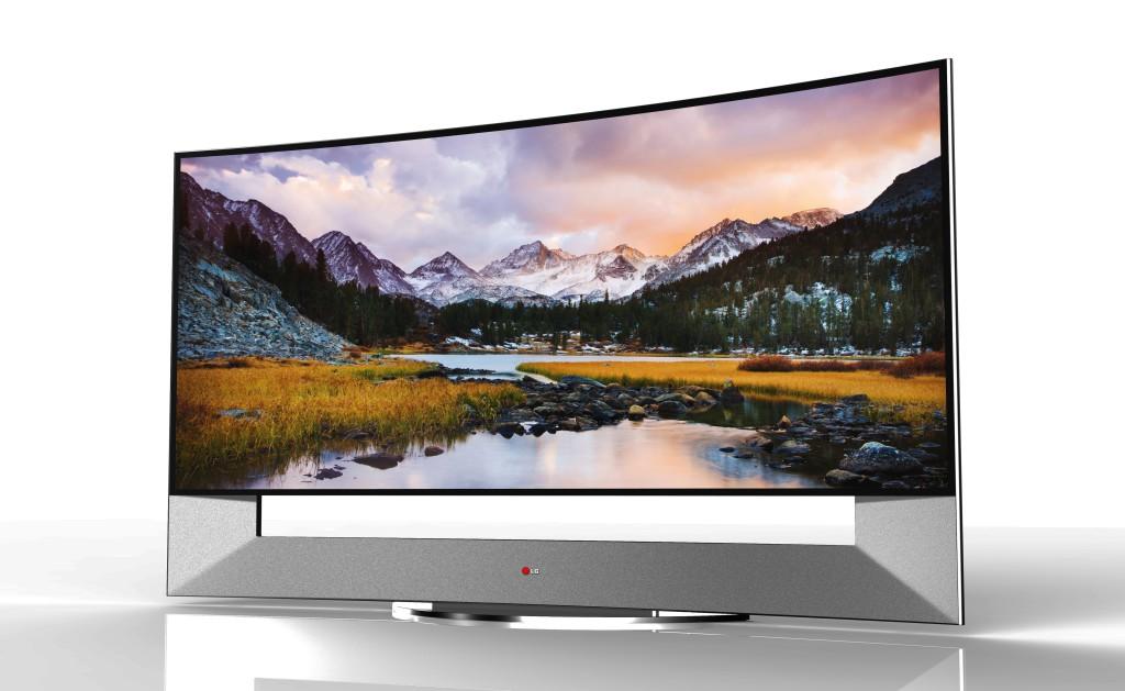 LG alustas kumerate 105-tolliste 4K ULTRA HD telerite müüki