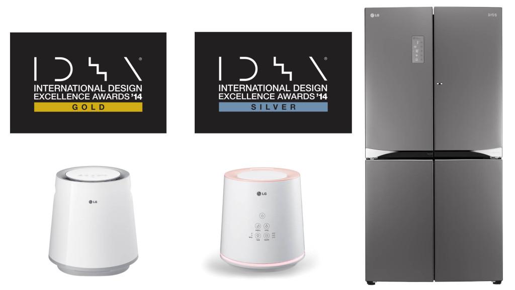 LG võitis IDEA 2014 disainikonkursil mitmeid auhindu