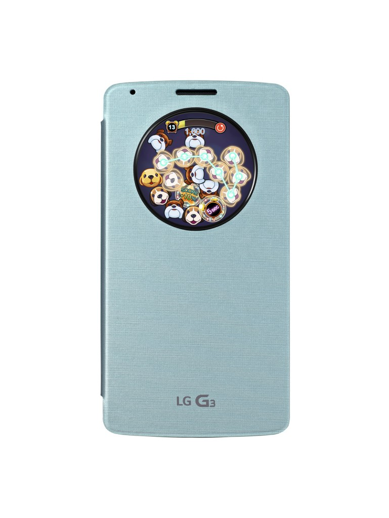 Puppy Pop Game for LG QuickCircle Case 2