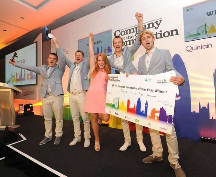 Tallinnas algas täna Euroopa õpilasfirmade võistlus