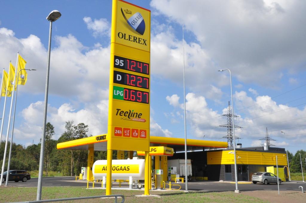 Olerex avab täna Õismäel uue teenindusjaama