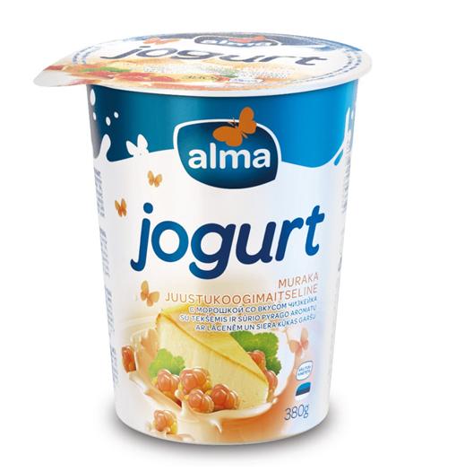 Alma muraka-juustukoogimaitseline jogurt naaseb turule
