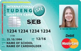 Uut SEB ISIC Õpilane pangakaarti saab kasutada ka ühistranspordis