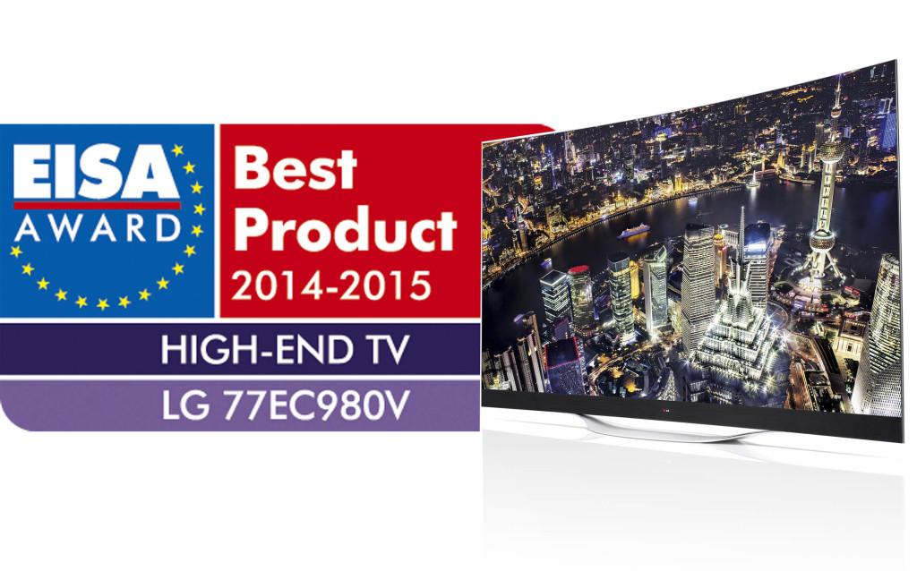 LG OLED TV_EISA Award 2014-2015