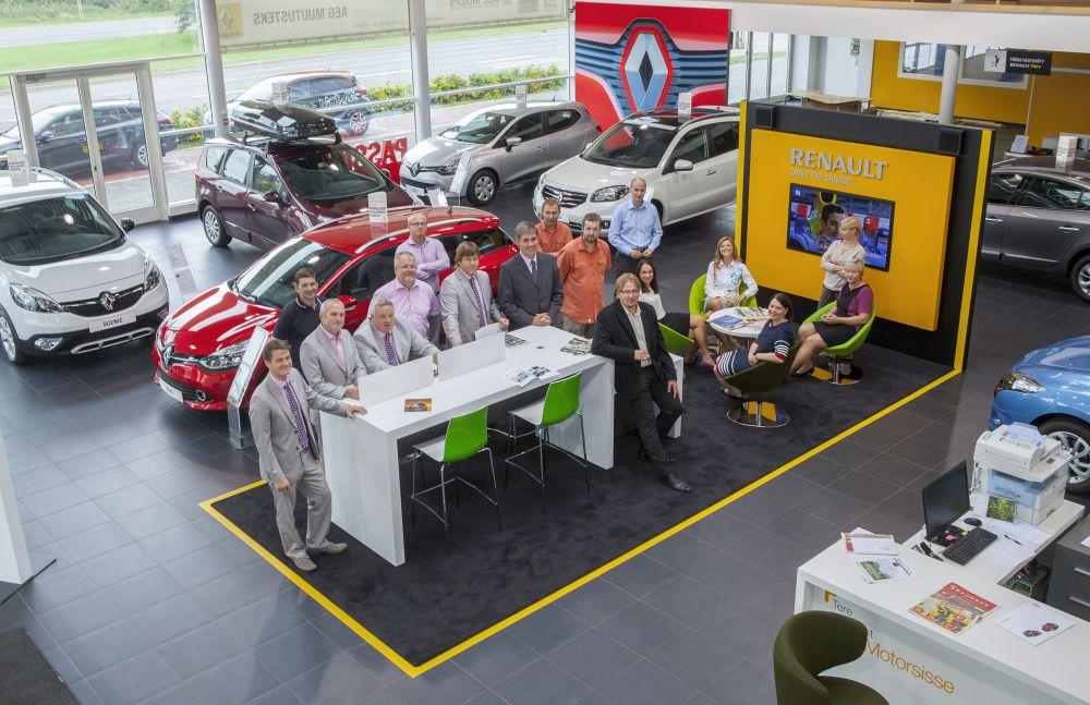 Abc Motors avas Baltikumi esimese Renault R-Store'i