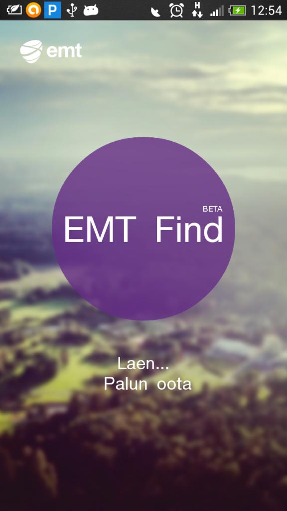 Positsioneerimisäppi EMT Find on alla laaditud 3000 korda