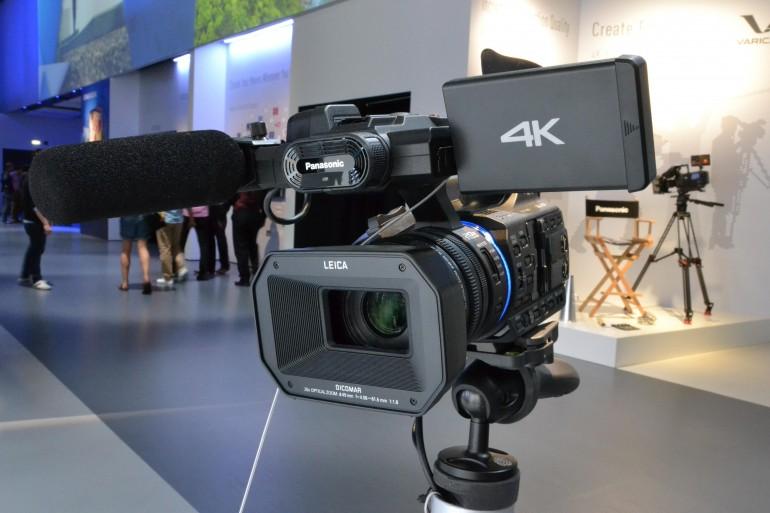 Panasonic tutvustab 4K Ultra HD videokaamerat